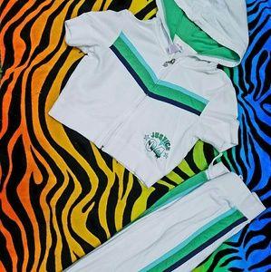 Crop Hoodie Capri Athletic Dance Set Shrug Jacket